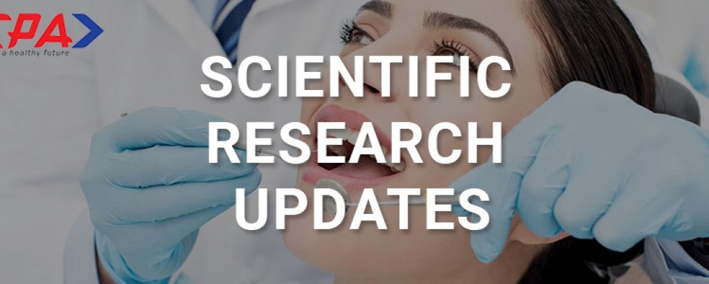 Research updates 1 April 2021